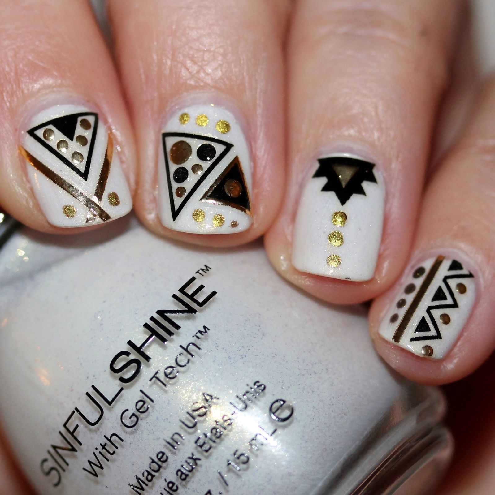 ally Hansen Complete Care 4-in-1 Extra Moisturizing Nail Treatment / Sinful Colors Koko-Nuts / Kiss Nails Polish Pop Stickers 62295 NPOP02 / Native War Paints Hurry, Hurry!Top Coat