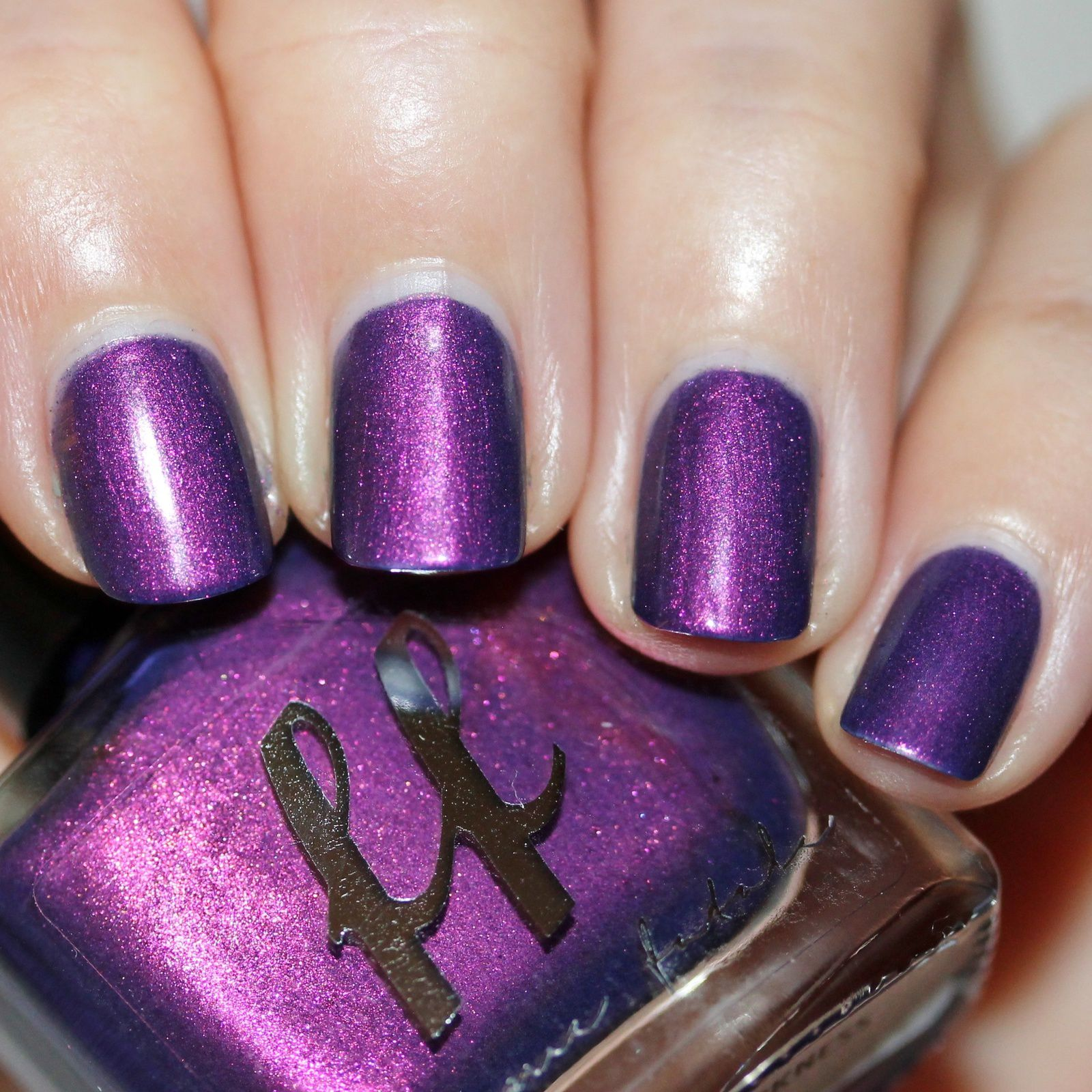 Femme Fatale Cosmetics The Mark of darkness (2 coats, no top coat)