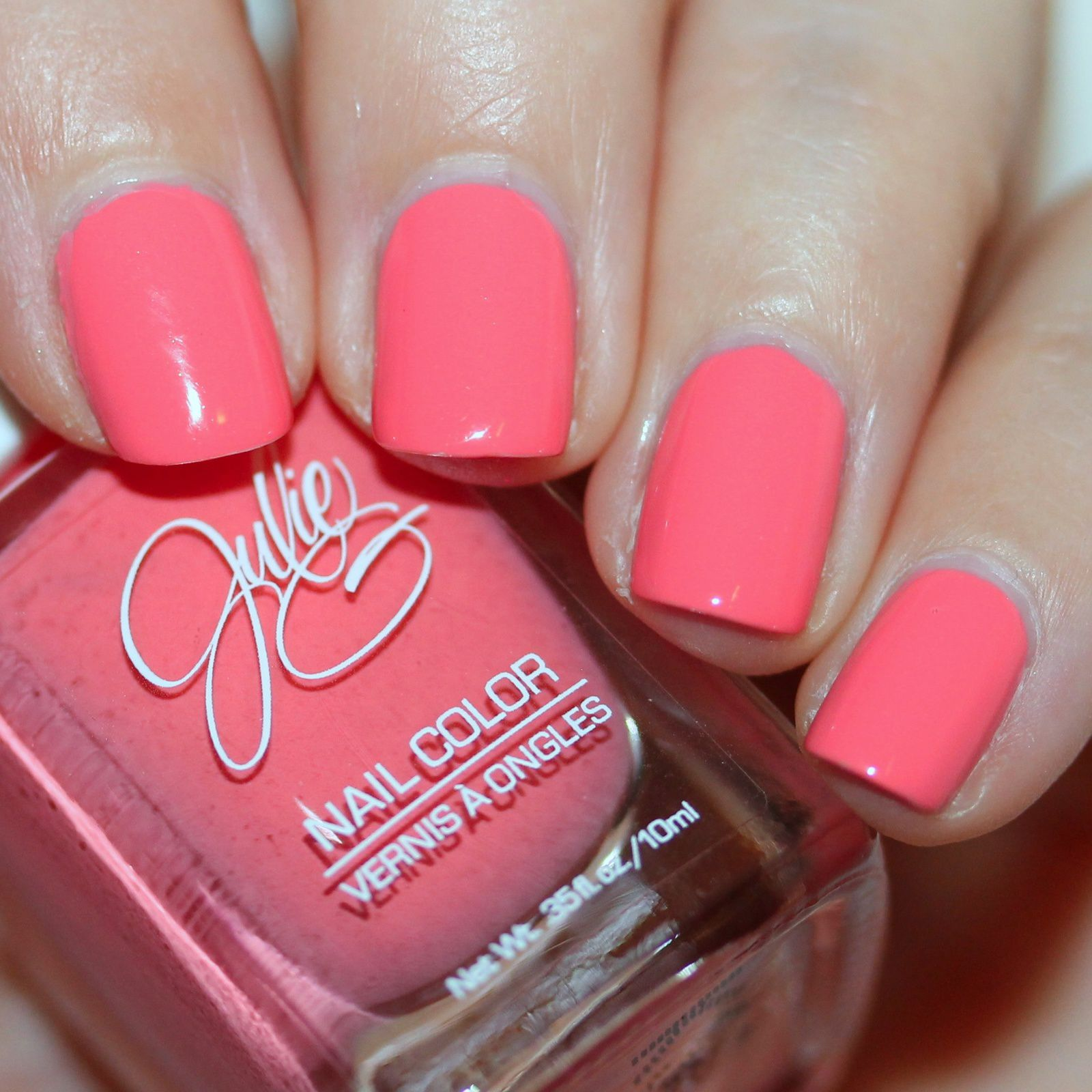 Sally Hansen Complete Care 4-in-1 Extra Moisturizing Nail Treatment / Julie G Anthony / HK Girl Top Coat