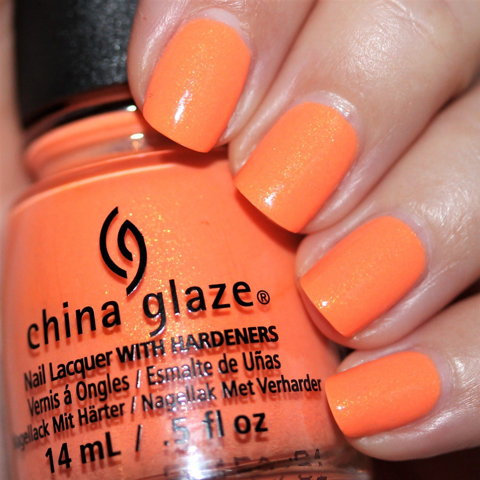 Essie Protein Base Coat / China Glaze All Sun & Games / Native War Paints Hurry, Hurry! Top Coat
