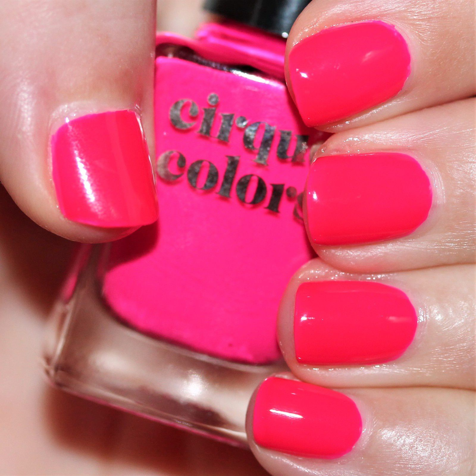 Essie Protein Base Coat / Cirque Colors Retail Therapy / HK Girl Top Coat