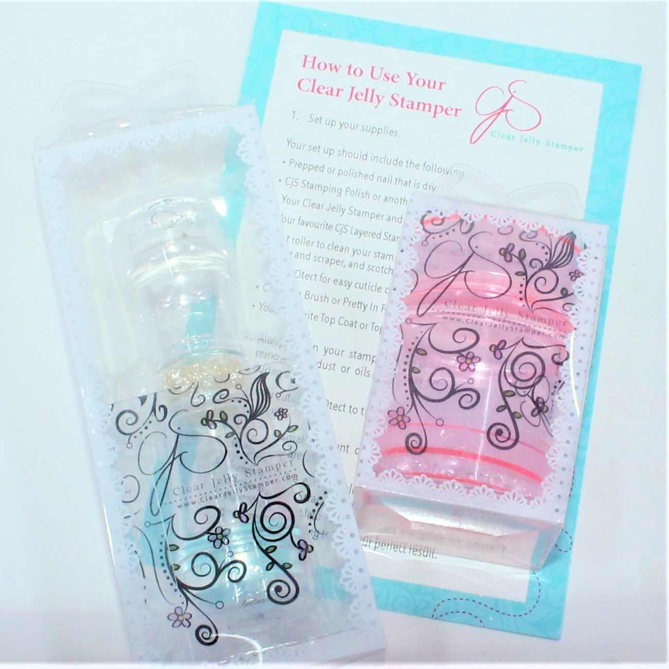 Clear Jelly Stampers