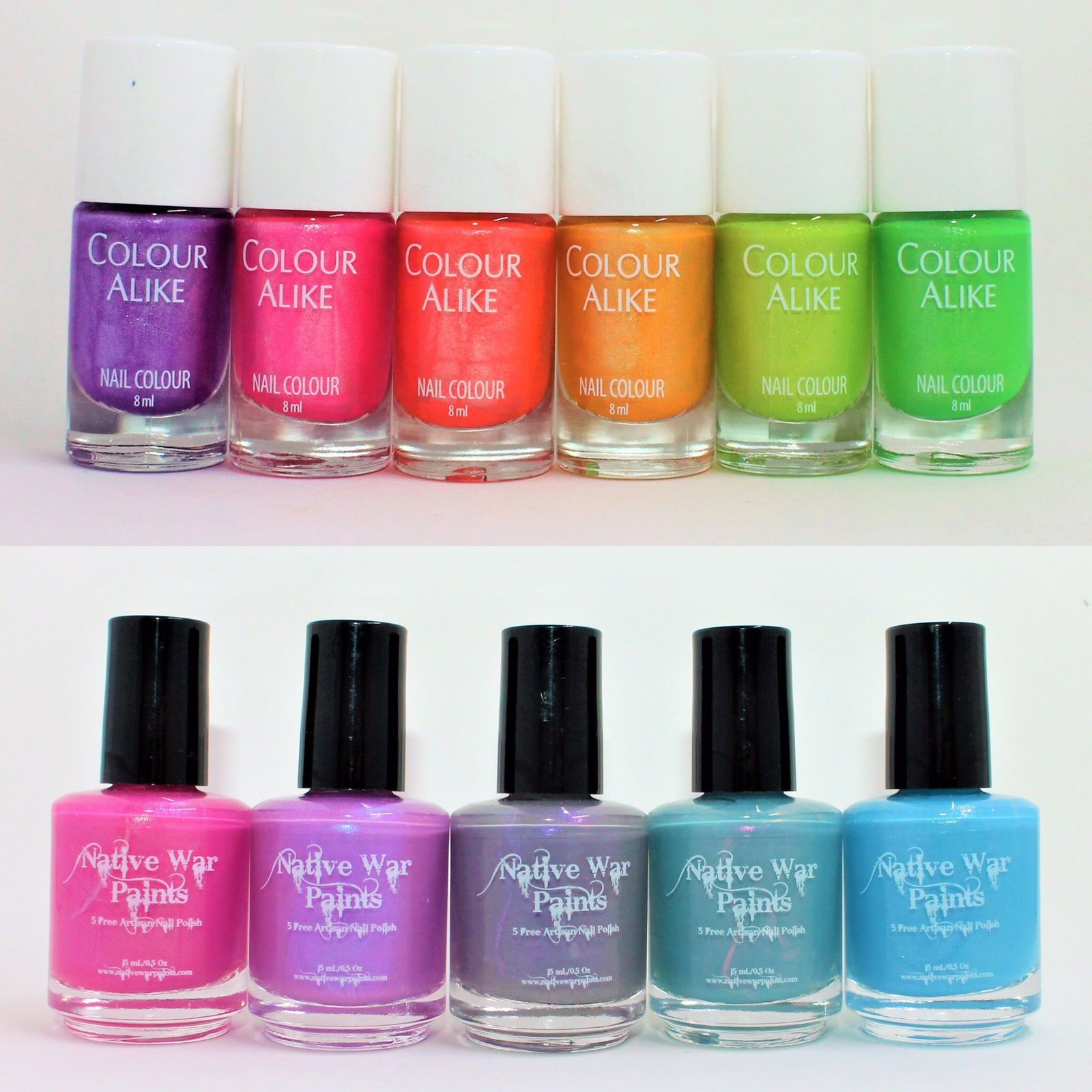 Colour Alike Disco Collection (Goin' to the Funkytown, We Can Boogie, Dance Fever, Shake It, Who's Cool, MYCA). Native War Paints Physical Touch, Quality Time, Words of Affirmation, Receiving Gidts, Act of Service.