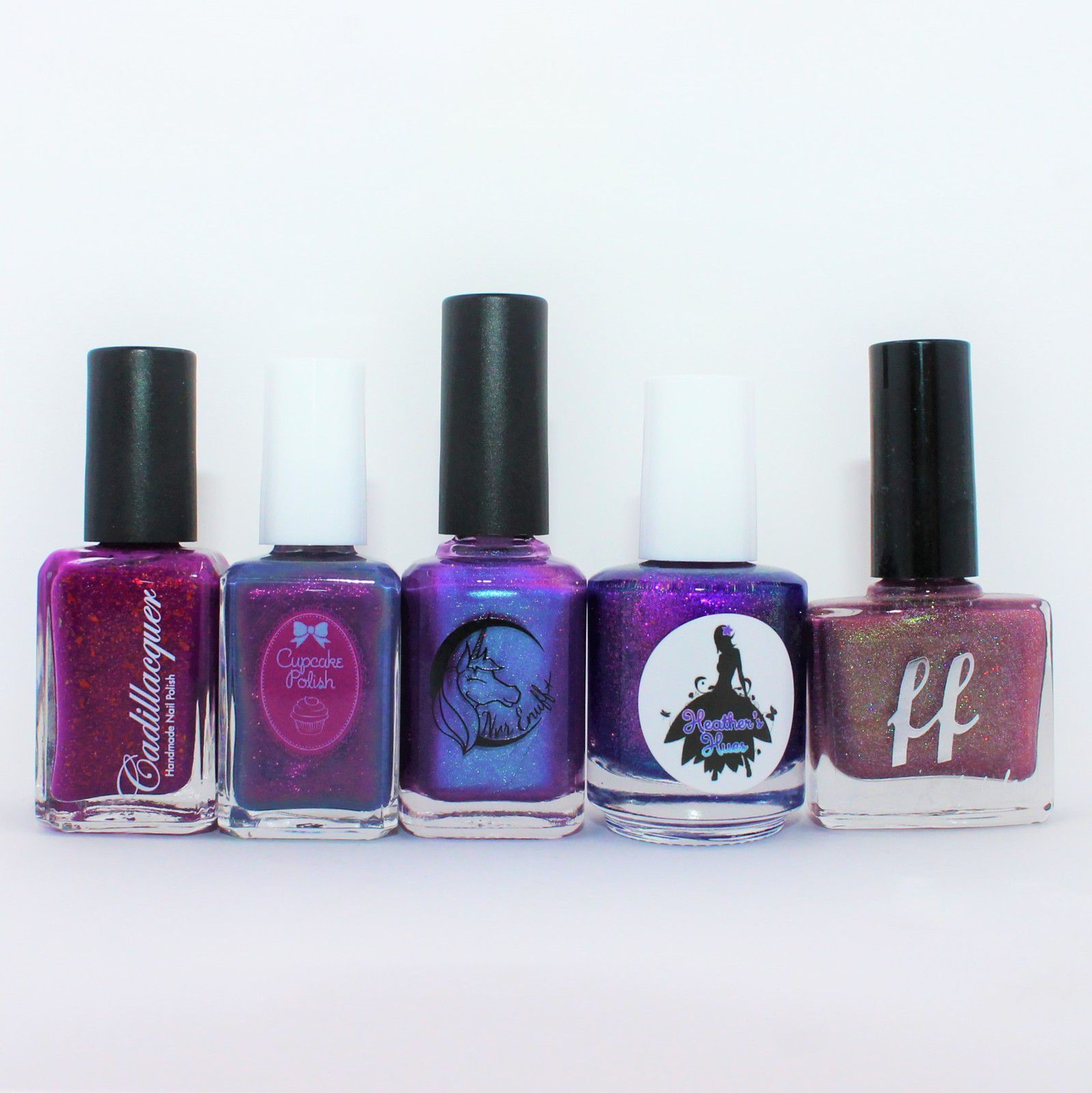 PPU January 2020: CadillacquerThe Underestimated One, Cupcake Polish Retrograde, Nre Enuff Pinwheel Galaxy, Heather's Hues Scorpius. HHC December 2019: Femme Fatale Desperation
