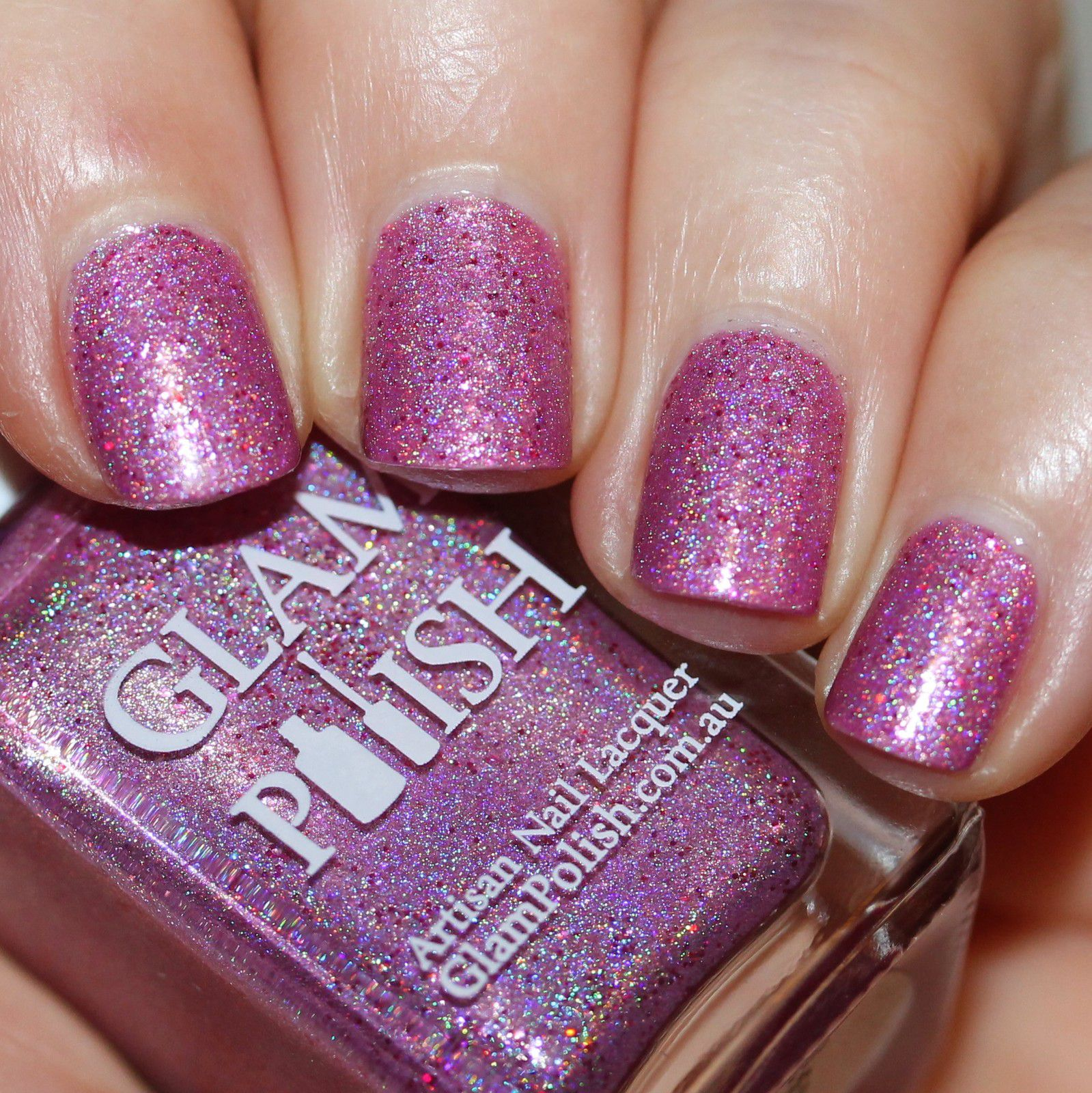 Essie Protein Base Coat / Glam Polish Did You Catch That? / HK Girl Top Coat