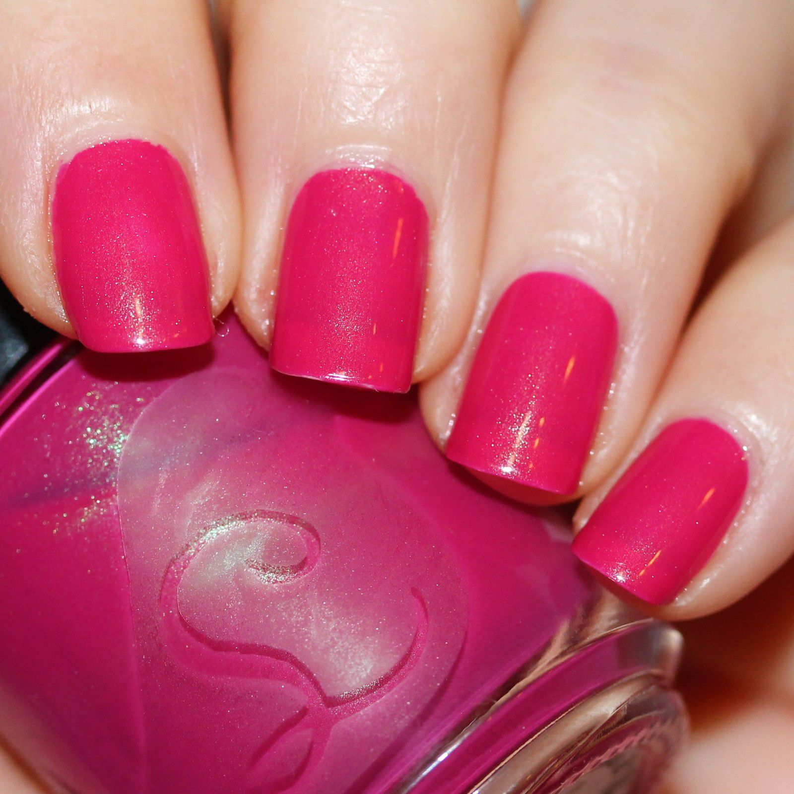 Essie Protein Base Coat / Lou It Yourself (now Bluebird Lacquer) I'm Fonda Your Flora / Poshe Top Coat