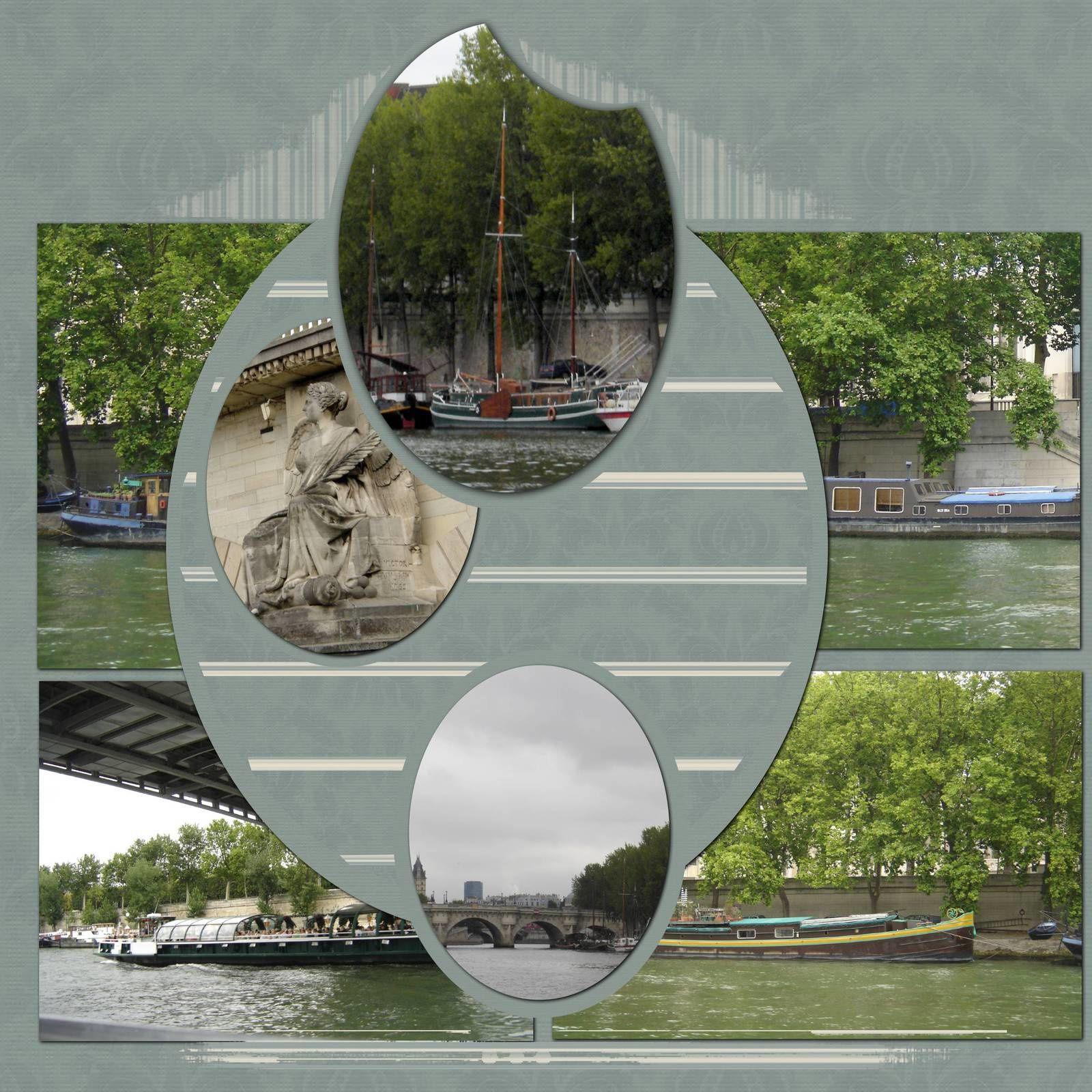 sur la Seine - 2009