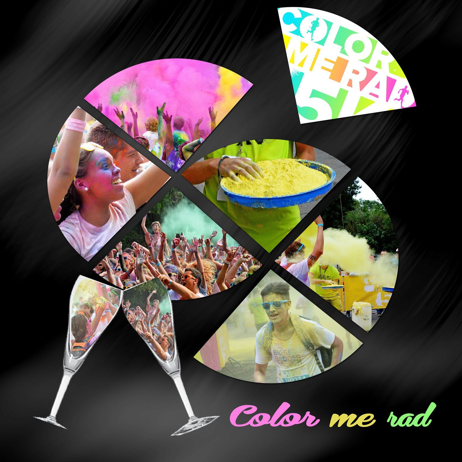 Color me rad - mise à jour en scrap ! octobre 2015