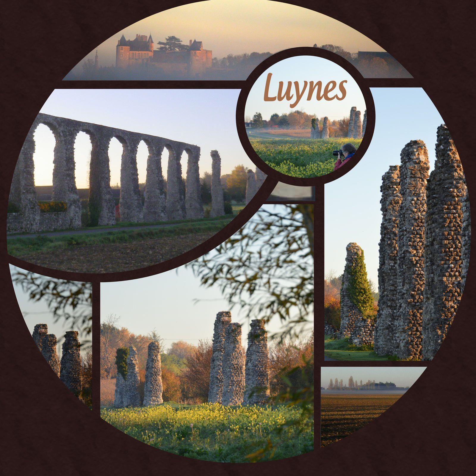 le jour se lève à Luynes