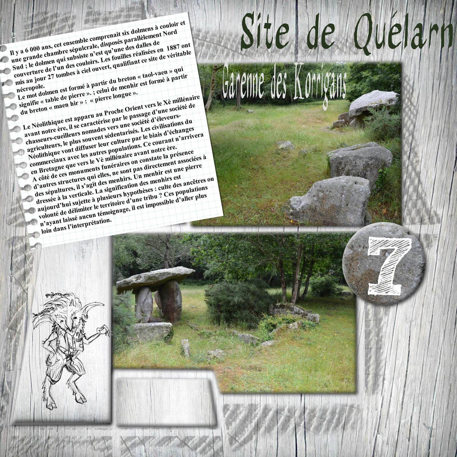 SITE DE QUELARN -  PLOBANNALEC