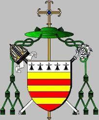 Armoiries épiscopales de Jacques de Castelnau de Clermont-Lodève
