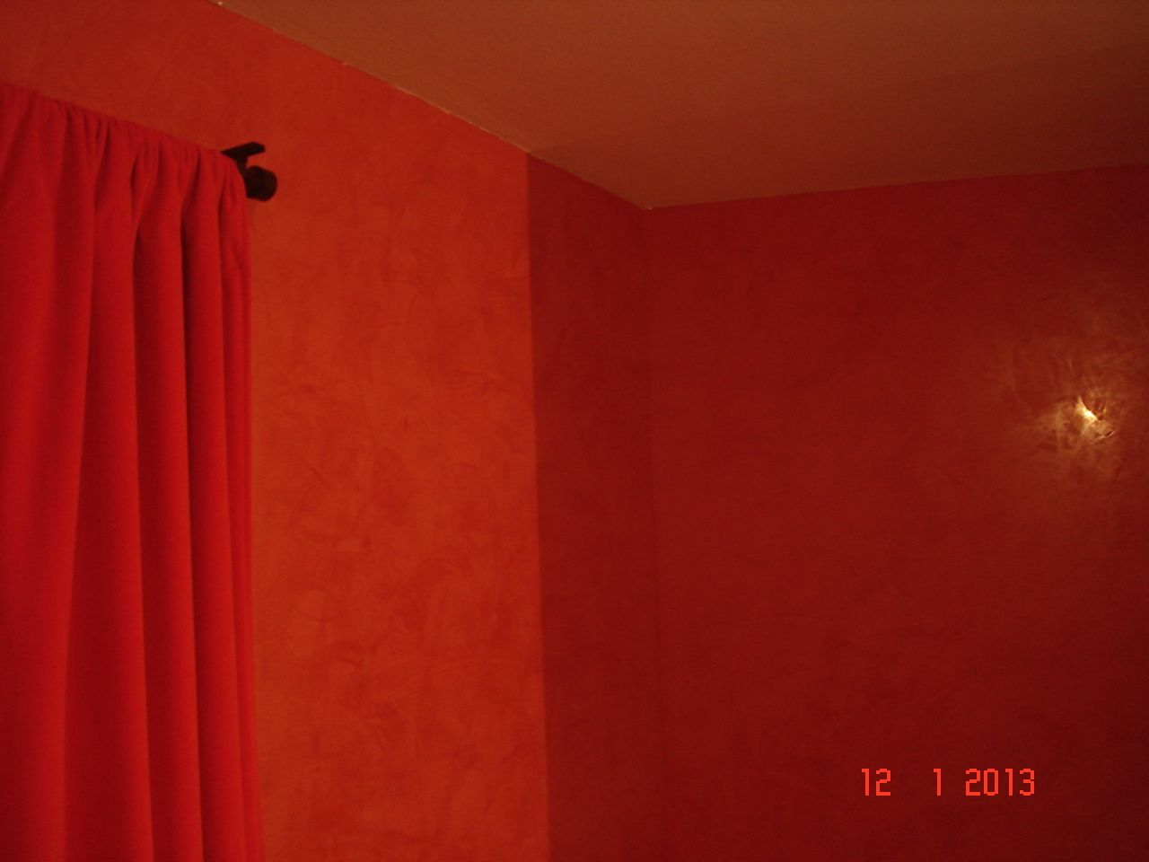 Stucco rouge