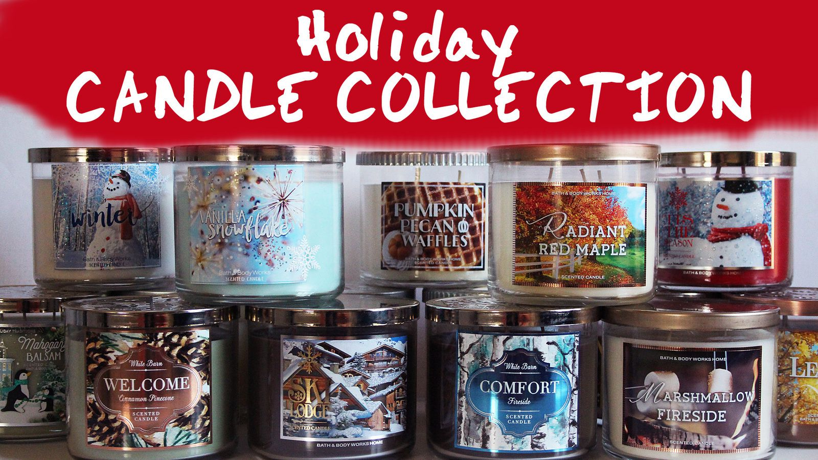 Favorite Holiday Bath And Body Works Candles 2017