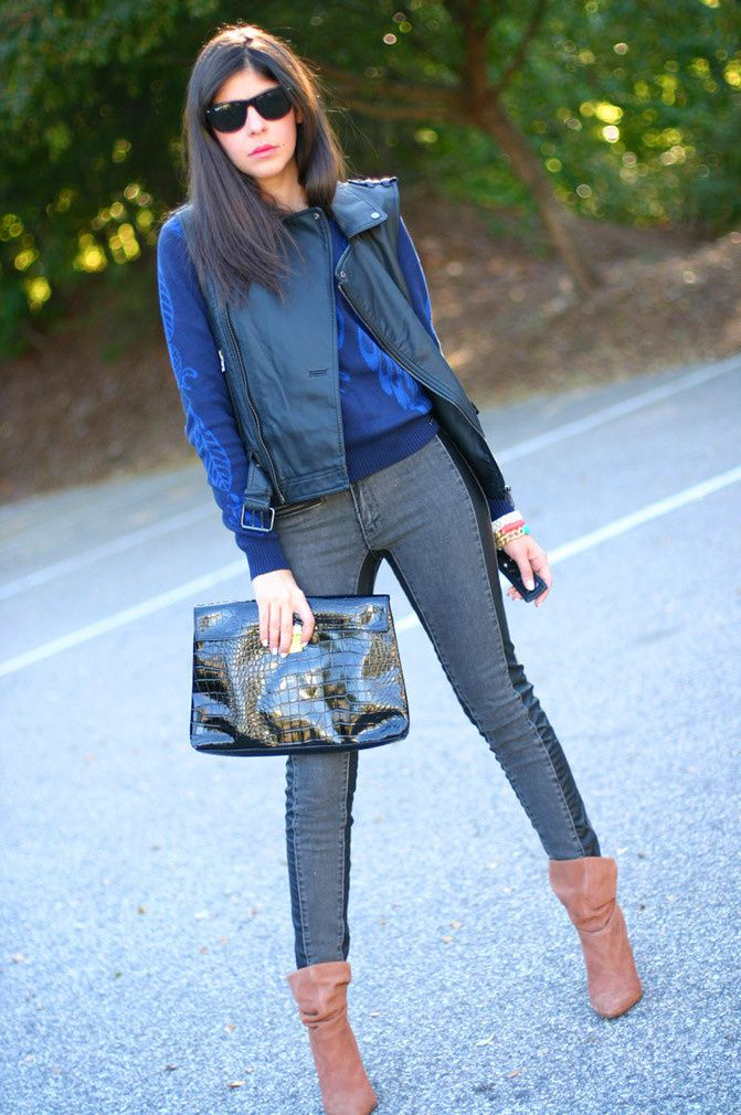 Rocker Chic Fall Outfit