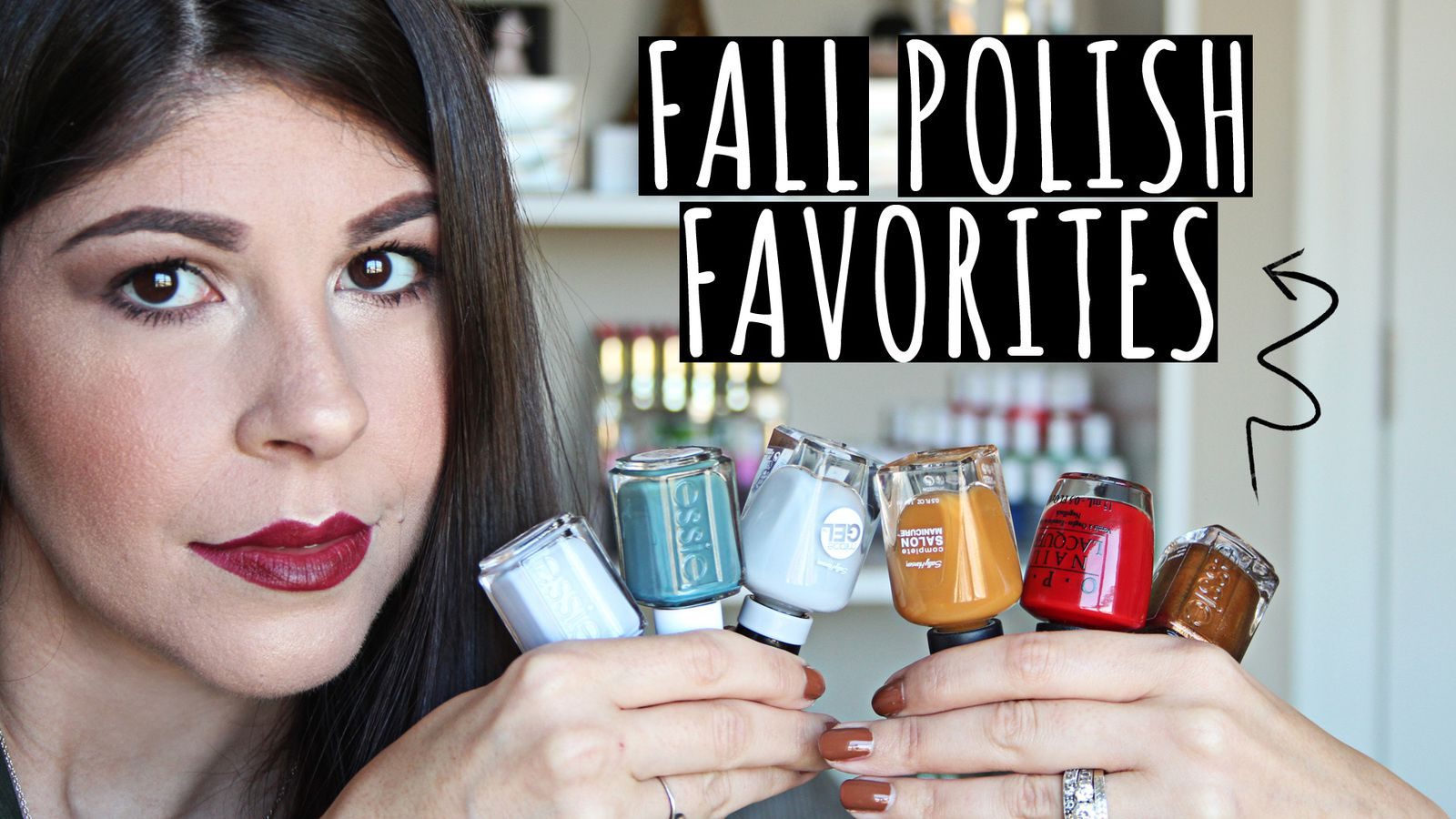 My Fall Nail Polish Favorites 2016! OPI, Essie, Butter London & More!