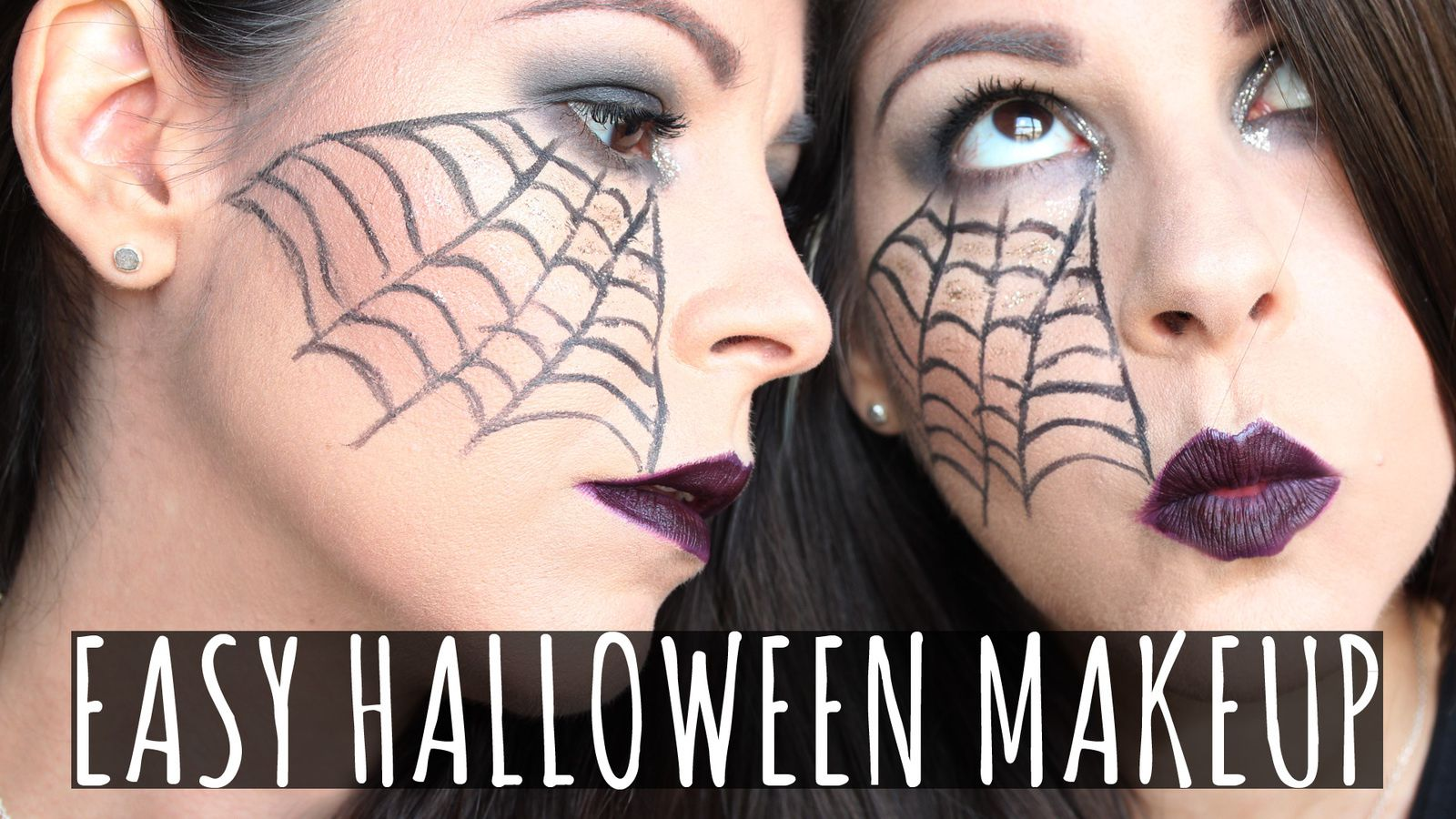 EASY Halloween Makeup! ALL Drugstore & Affordable!