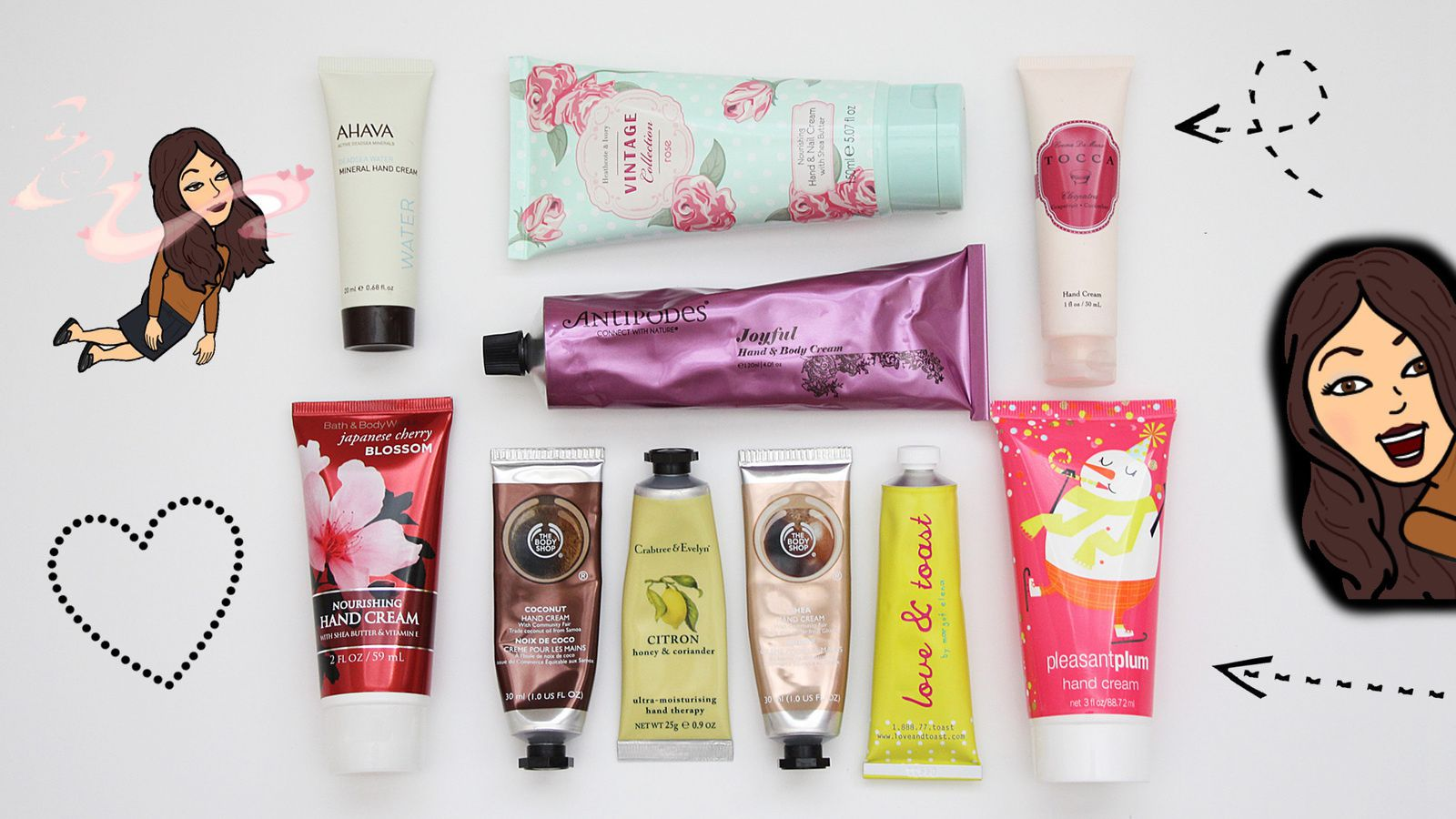 BEST Hydrating Hand Creams for Winter! 2016