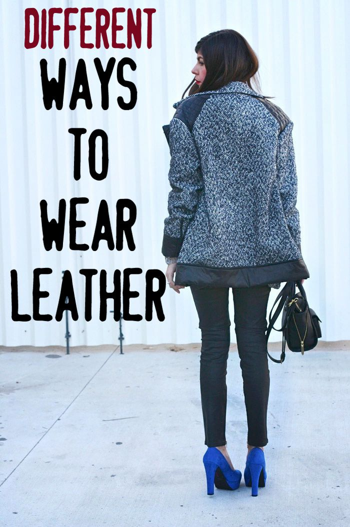 Ways To Read Tarot Cards: Different Ways To Wear Leather (even Vegan!)