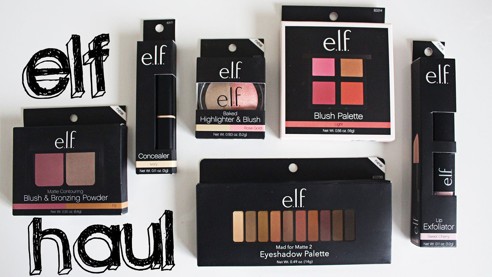 NEW ELF HAUL! First Impressions/Swatches | 2017