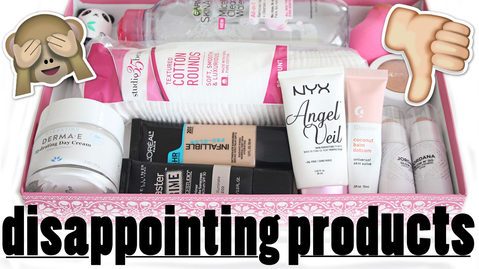 Disappointing Products 2017! Drugstore Edition + Better Alternatives!