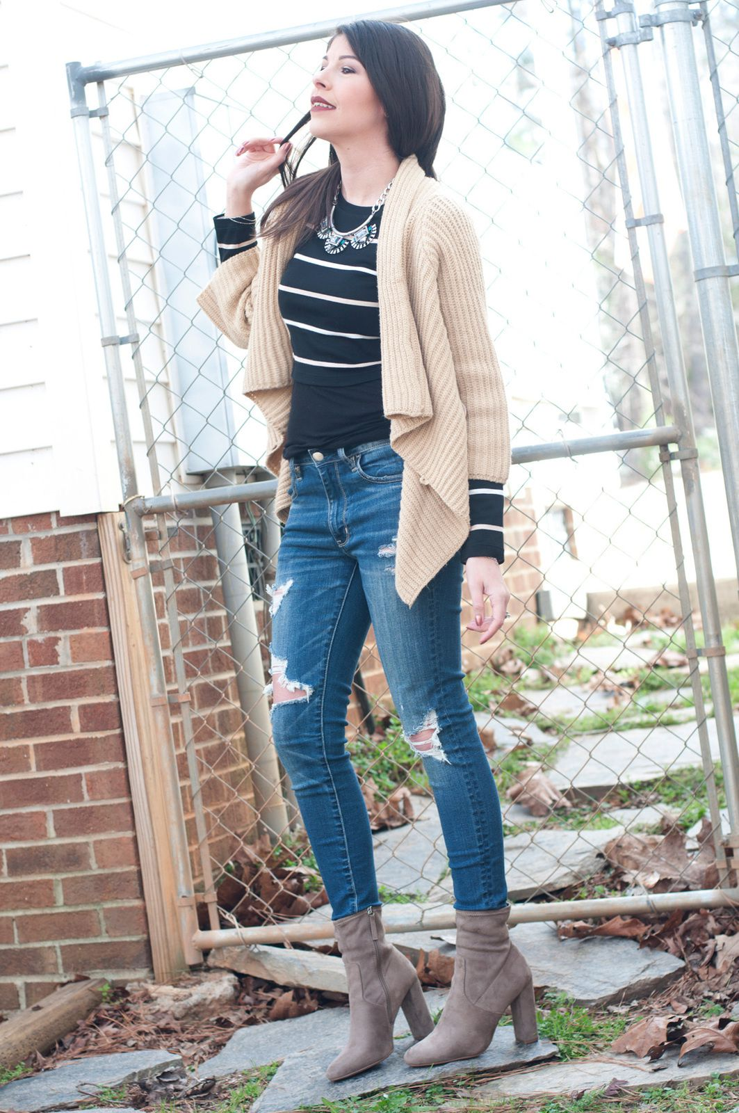Stripes & Cream | Outfit of the Day