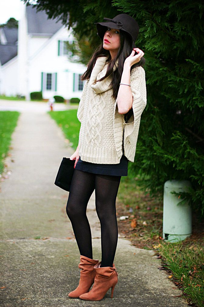 Casual in Cable-Knit