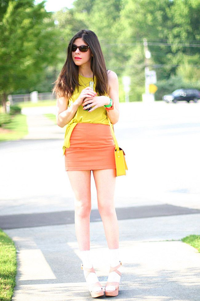 Spring into Summer Wearing Yellow
