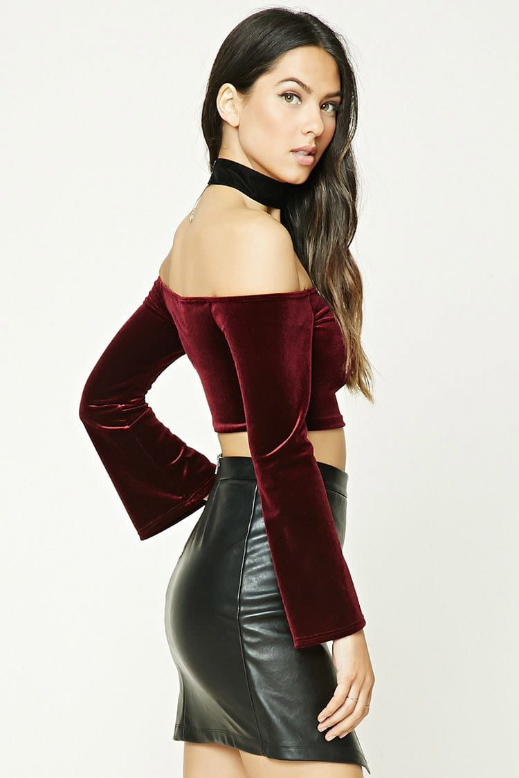 Slide Right into Fall with the Velvet Trend