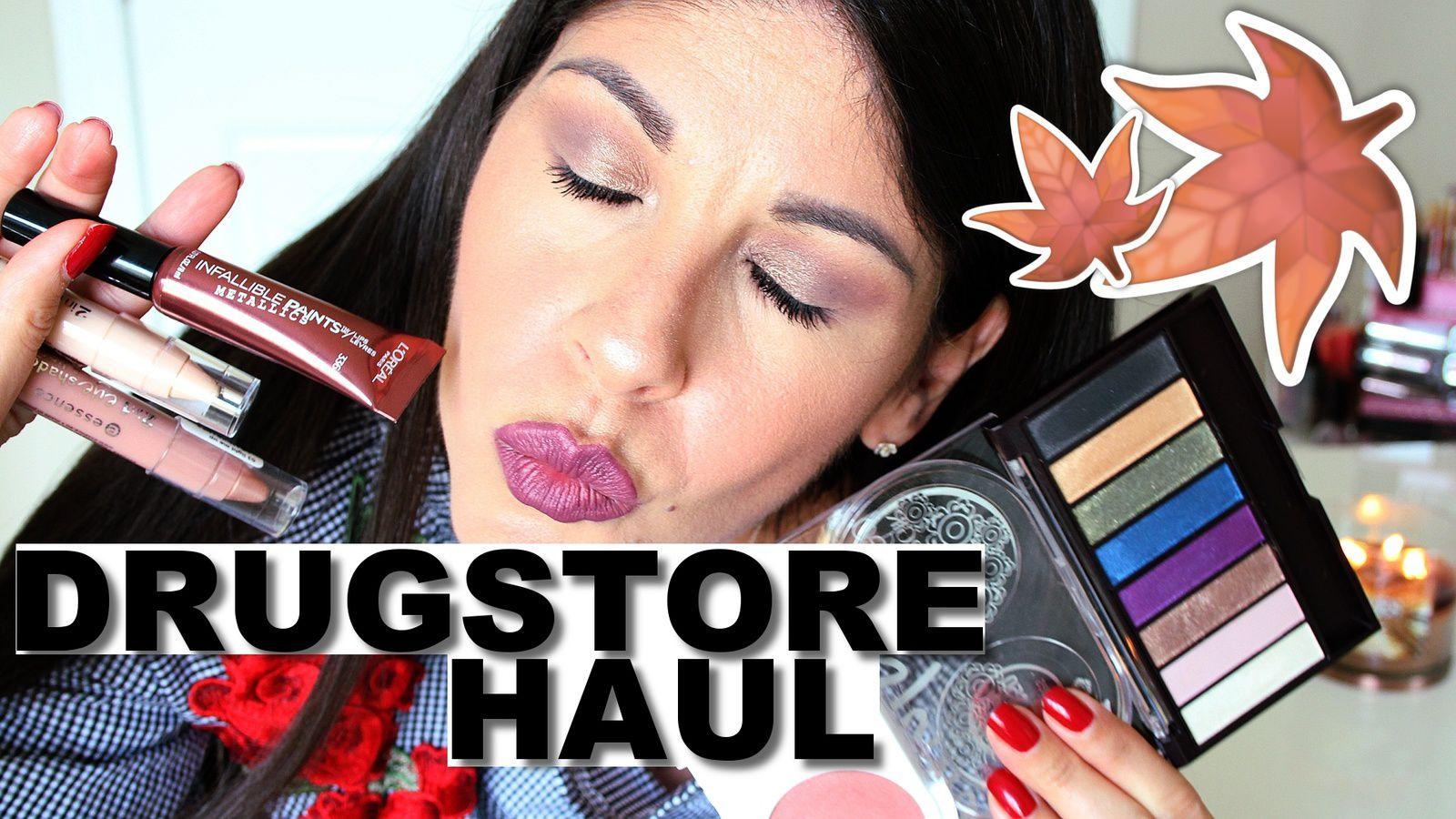 Fall Drugstore Makeup HAUL!!! 2017
