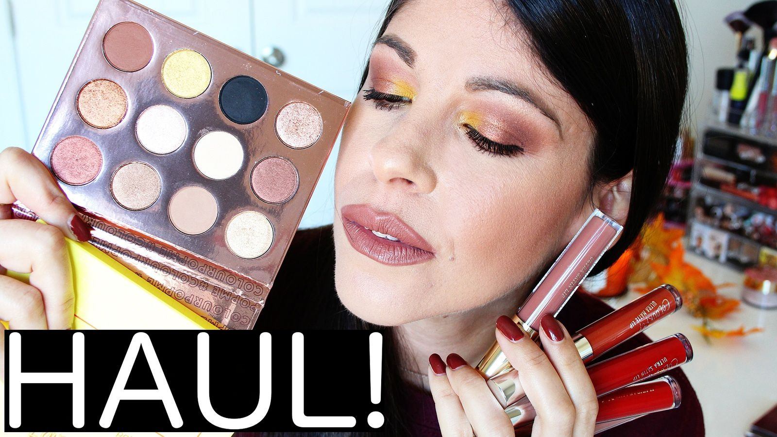 Colourpop HAUL! New Makeup & First Impressions!