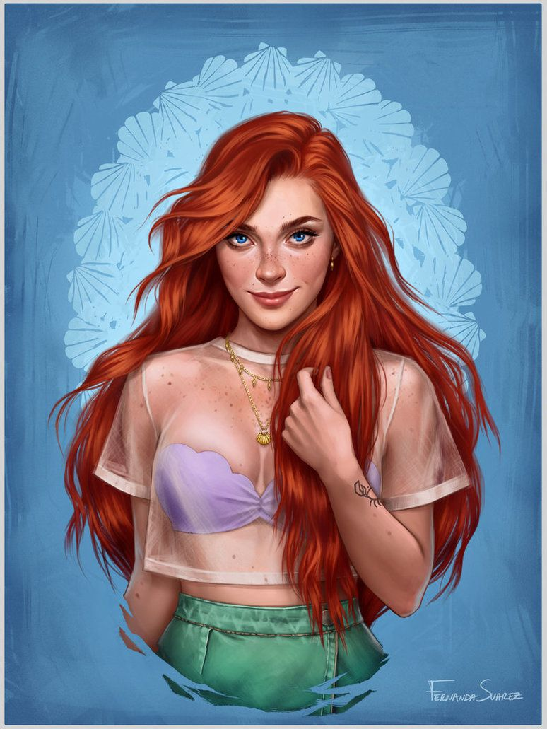 What Your Favorite Disney Princess Would Look Like in 2017