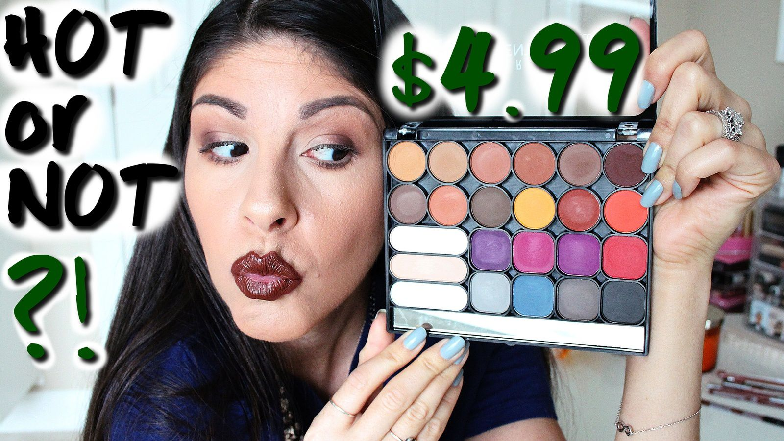 HOT or NOT $4.99 Eyeshadow Palette?!