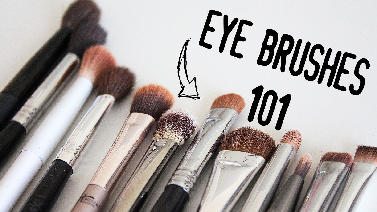 BEST Eye Makeup Brushes & How To Guide!