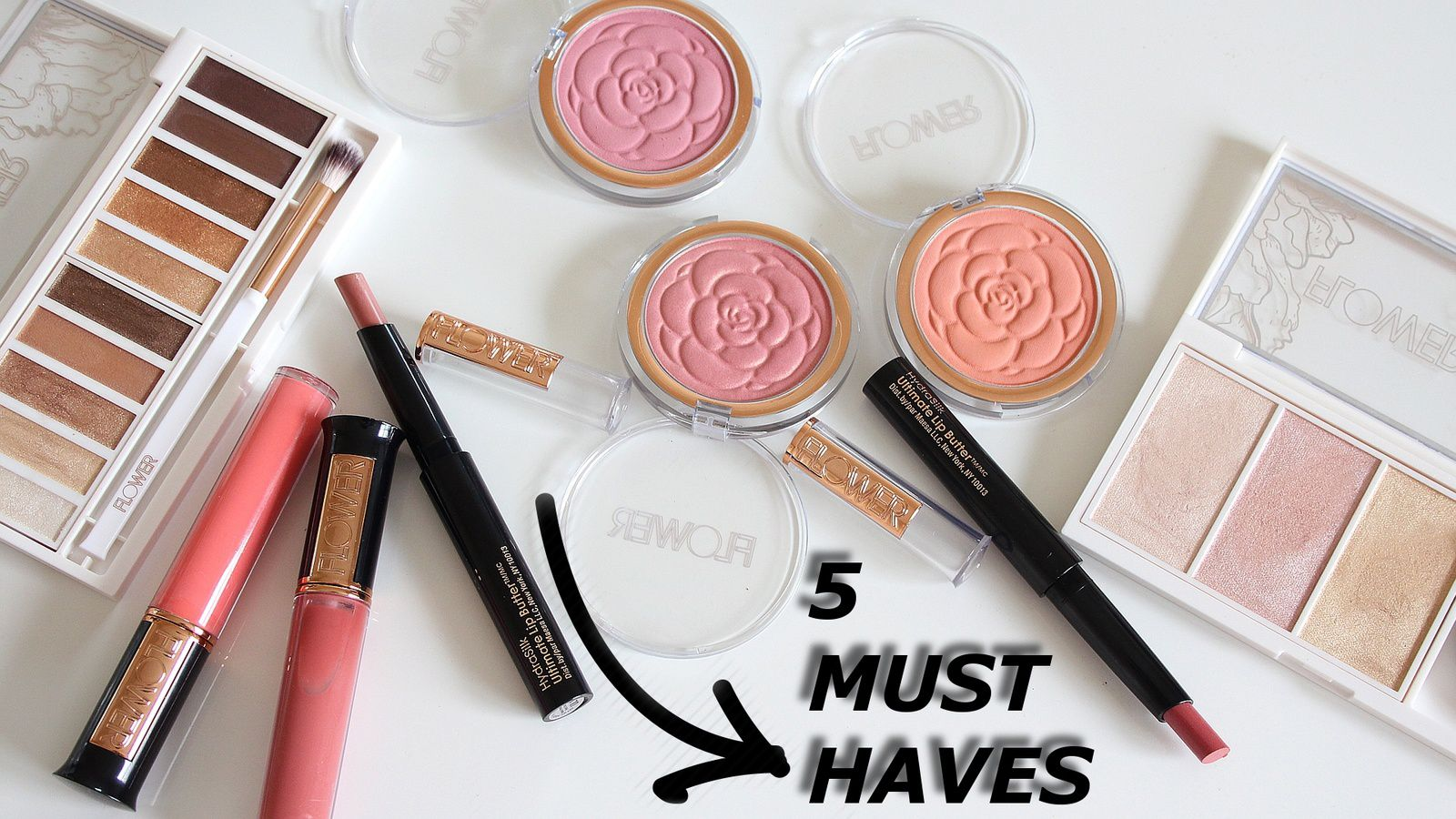 BEST OF Flower Beauty Drugstore Makeup! My 5 Must-Haves!!