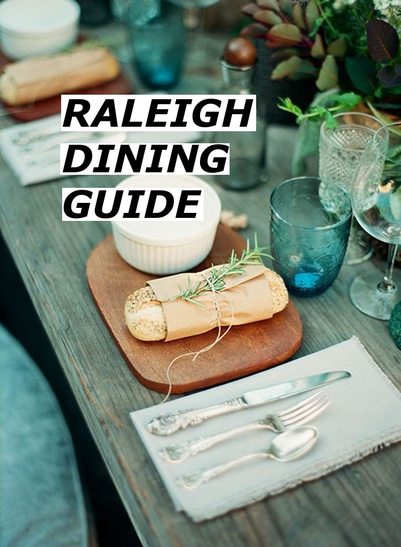 5 New Raleigh Restaurants
