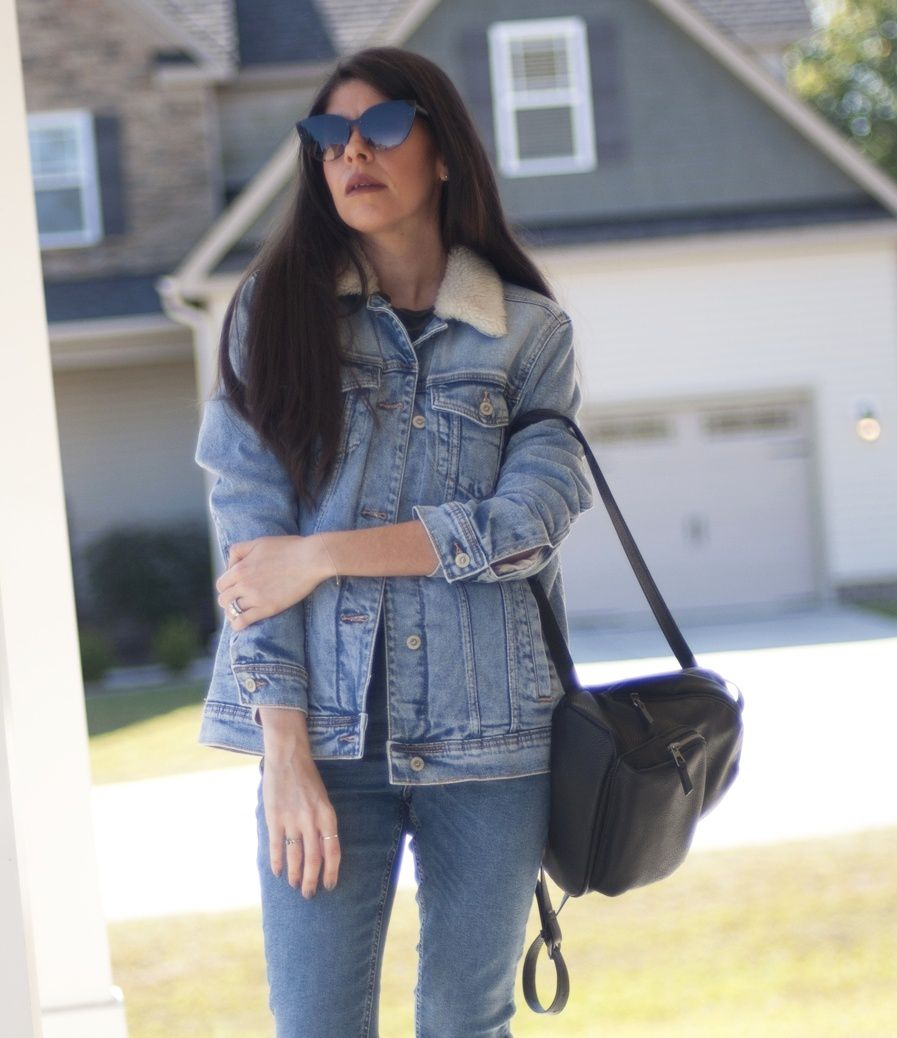 SHERPA + DENIM