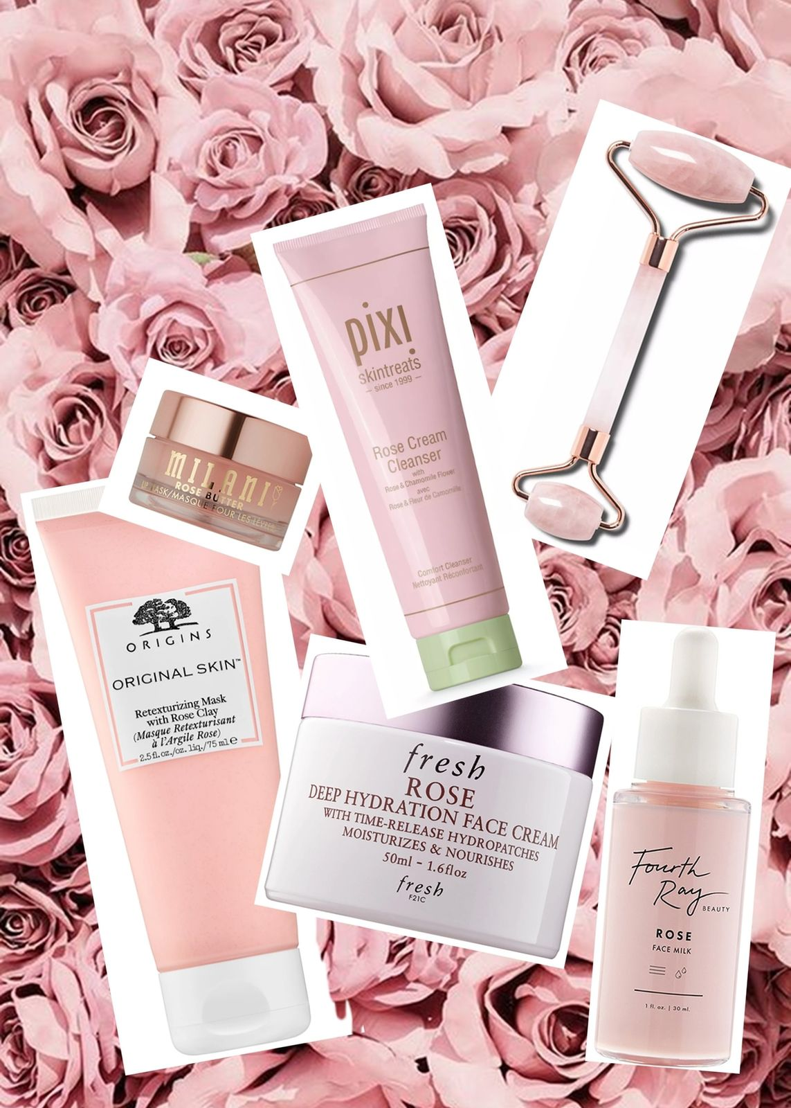 FIND COMFORT WITH ROSE SCENTED SKINCARE