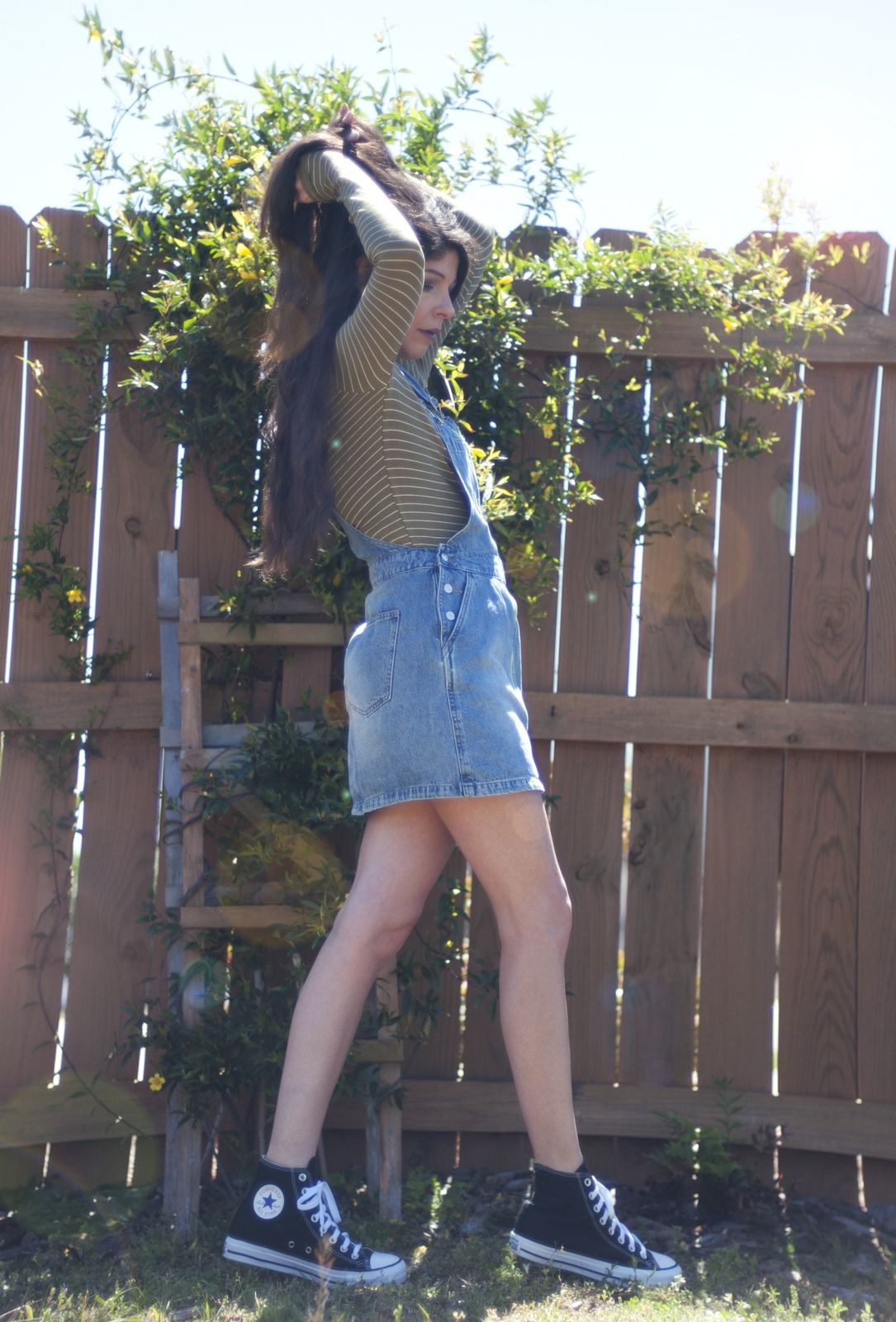 I WORE OVERALLS IN MIDDLE SCHOOL
