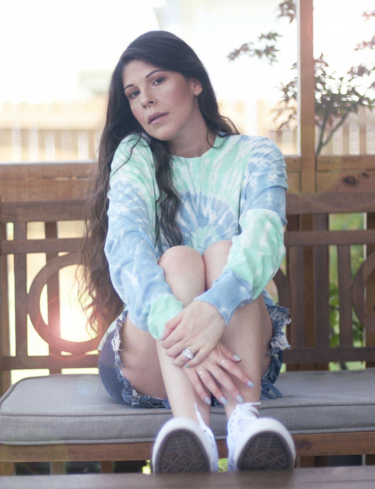 FALLING FOR THE TIE DYE TREND