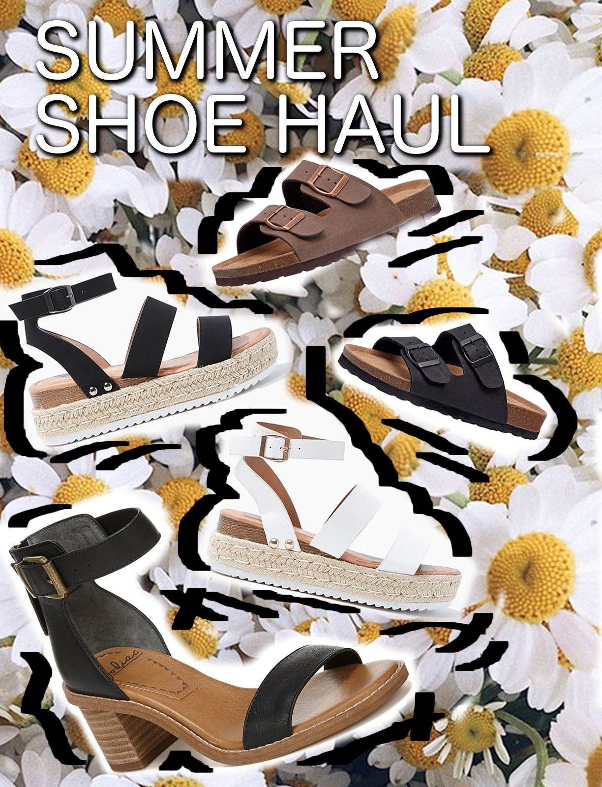 MOSTLY A SUMMER SHOE HAUL (most under $25!)