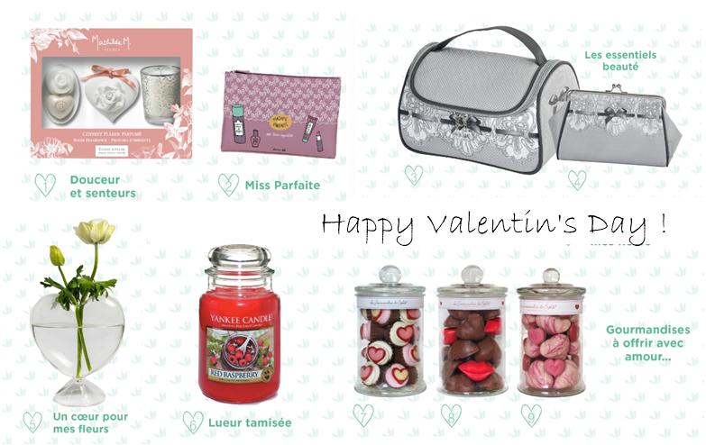 Quel cadeau pour la St Valentin ?