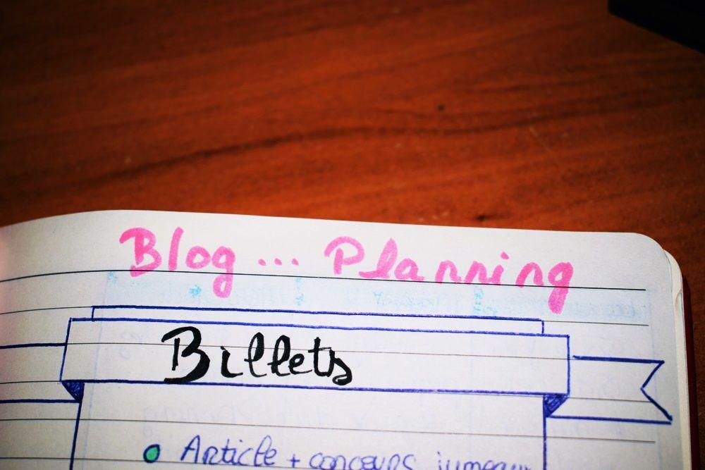 Quelle organisation pour le blog ?