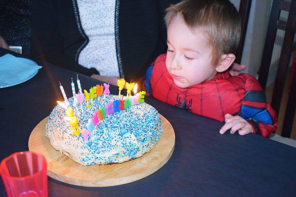 3e anniversaire de Liam