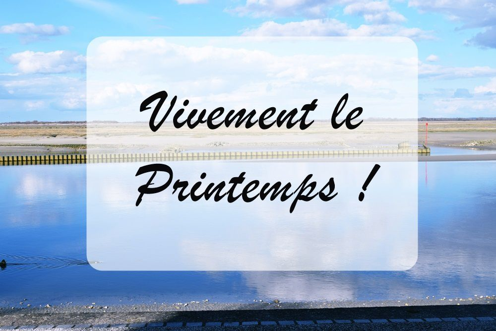 Vivement le Printemps