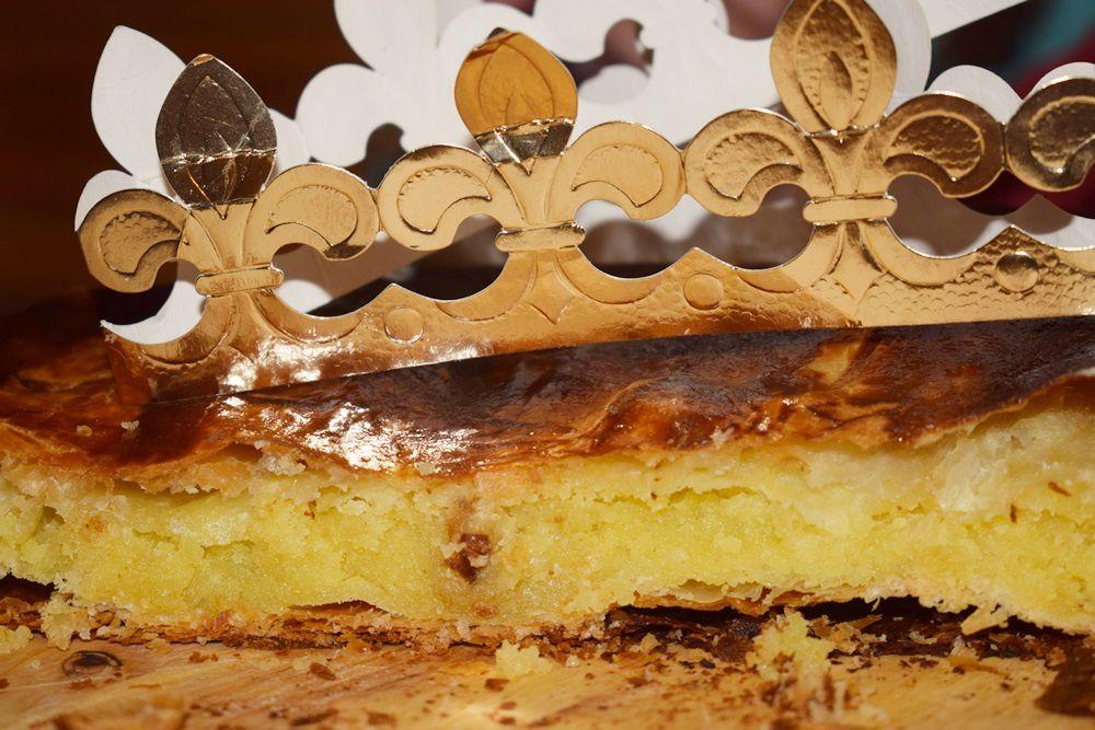 Galette des rois frangipane à la vanille