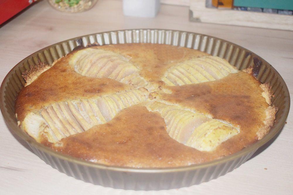 Délicieuse tarte aux poires