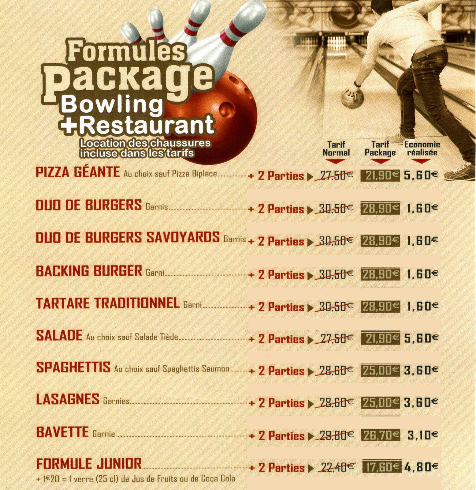 Soirée - Bowling le 20/03/2017
