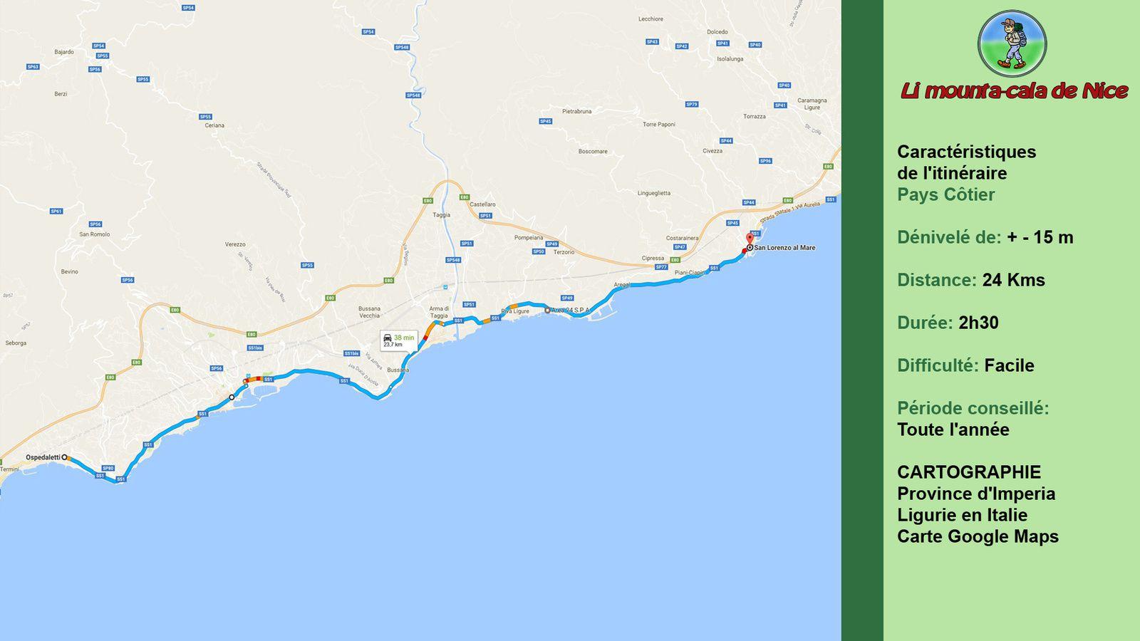 Ospedaletti - San Lorenzo al Mare