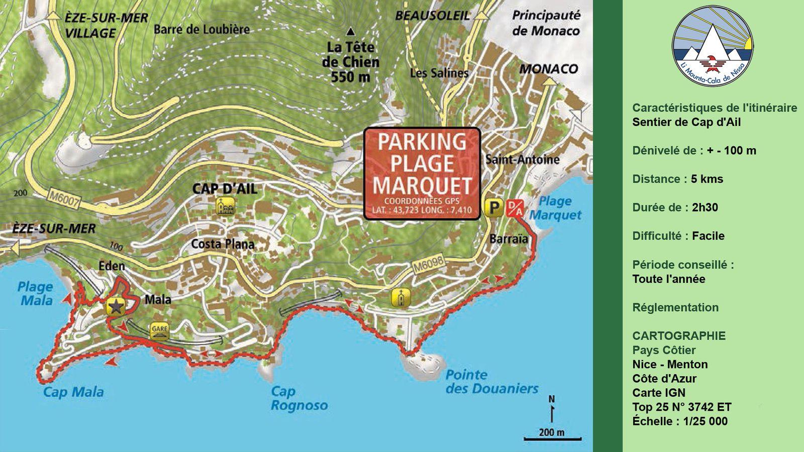 Sentier de Cap d'Ail
