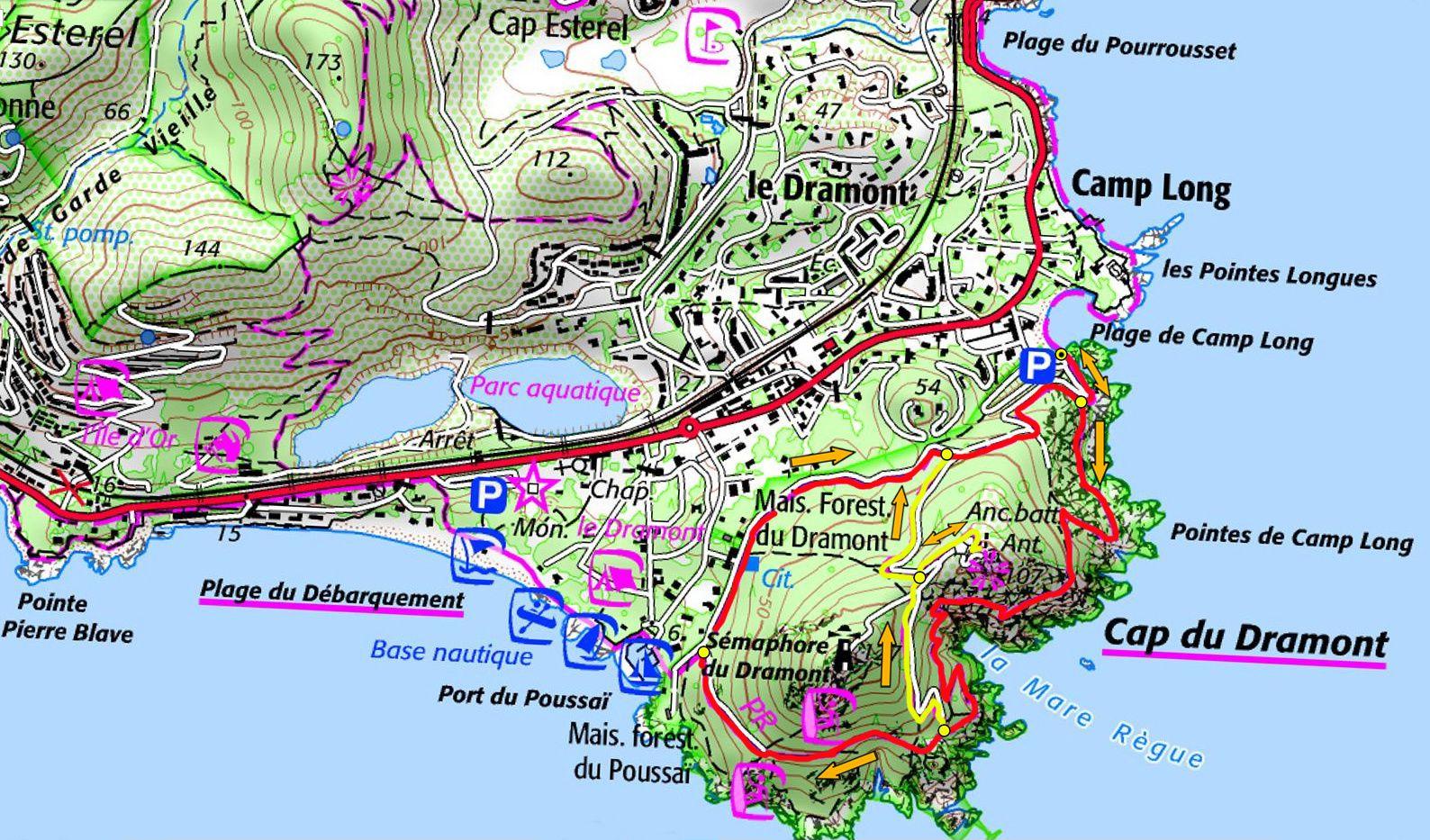 Journée du Cap Dramont